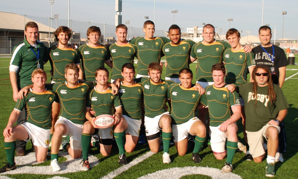 The Cal Poly 7s team finished 8th at the 2011 USA Rugby National Championships. Photo Mike Nunno