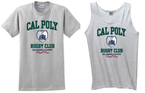 Cal Poly Rugby Final Four T-Shirt & Tank by J.Carroll