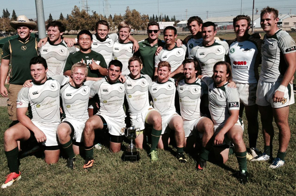 Cal Poly win the inaugural 2013 California State 7s Championship