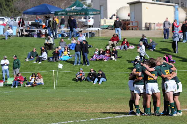 The Mustangs at the 2012 Californian National Championship Qualifier in San Luis Obispo.