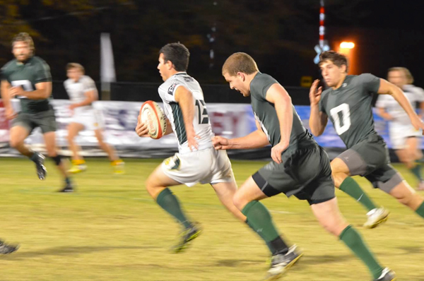 Cal Poly will play the Dartmouth Big Green under lights this March. Photo Leanna Long
