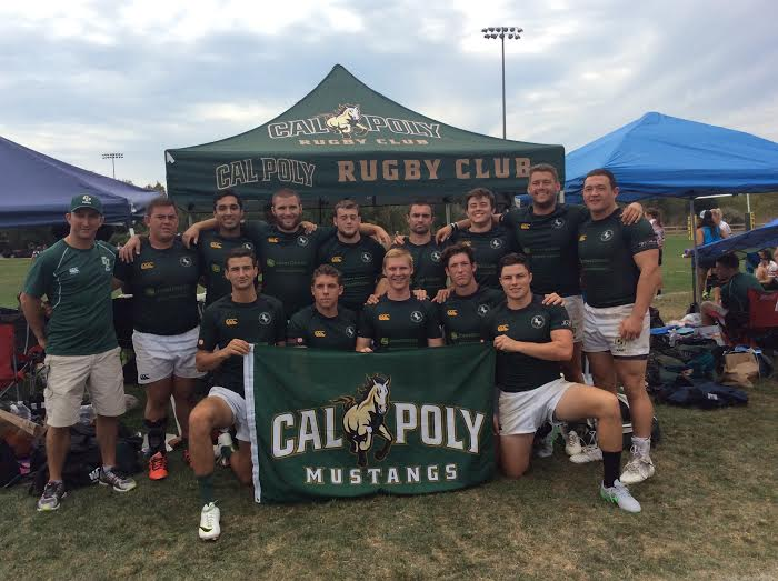 Cal Poly Rugby at the Tri-Tip 7s. (September 12, 2015)