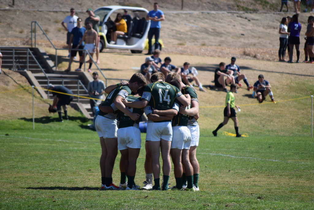 Cal Poly 7s at the 2015 West Coast Sevens. Photo Daniel Dempster